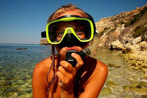 Μάσκα θάλασσας