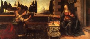 Ο Ευαγγελισμός της Θεοτόκου, Λεονάρντο ντα Βιντσι, 1745