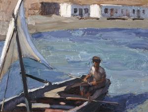 Βάρκα με πανί Νίκος Λύτρας