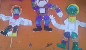 Αστροναύτης - κούκλα 1