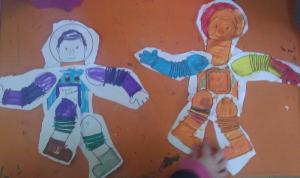 Αστροναύτης - κούκλα 2
