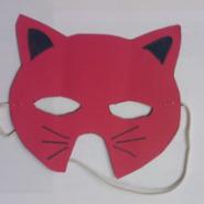 Μάσκα γατούλα