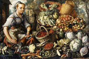 Joachim_Beuckelaer_-_Market_Woman_with_Fruit,_Vegetables_and_Poultry_-_WGA02119